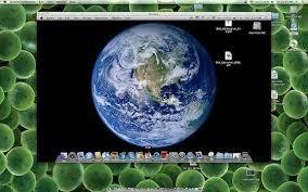 ecran bureau retourné partage d écran à distance sous macos x et bug de l écran blanc