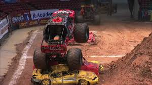 nitro circus monster truck backflip monstertrucks tv