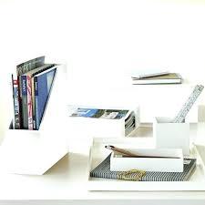 desk accessories set office and depot organizer regarding prepare 19