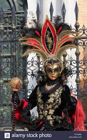 venetian costume a outside the venetian arsenal in a traditional venetian