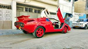 lamborghini countach replica karachi u0027s very own custom made lamborghini countach replica