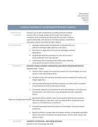 Project Coordinator Resume Examples Clinical Research Coordinator Resume Training Coordinator Resume