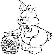 easter bunny coloring u0026 coloring book