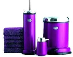 purple bathroom sets purple and gray bathroom accessories lilac bathroom accessories