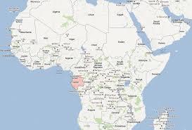 gabon in world map gabon map and gabon satellite image