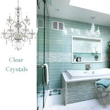chandeliers for the bathroom easy bathroom decor modern glamorous