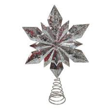 tree topper christmas tree toppers christmas tree decorations the home depot