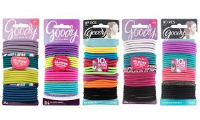 goody hair goody ouchless elastic hair ties assorted colors 120 or 135 pack