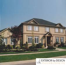 why high end homes in toronto choose stucco exterior by design
