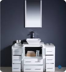 Bathroom Vanities Buy Bathroom Vanity Furniture  Cabinets RGM - Bella 48 inch bathroom vanity white