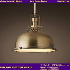 Iron Pendant Light Classic Modern Decorative Concrete Iron Pendant Lamp For