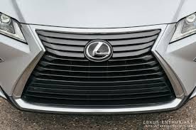 lexus rx 350 acceleration driving the all new 2016 lexus rx lexus enthusiast