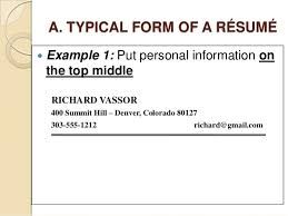 How To Make A Resume Examples by How To Write A Successful Resume Or Cv In English