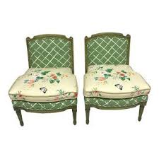Green Chairs For Living Room Vintage Used Accent Chairs For Living Room Chairish
