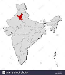 India Political Map Political Map Of India With The Several States Where Haryana Is