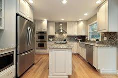 narrow kitchen with island narrow kitchen island white marble counter cabinet great narrow