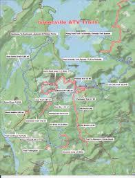Portland Trails Map by Maine Atv U0026 Dirtbike Trail Maps Untamed Mainer