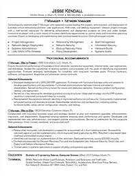It Manager Sample Resume by Tips To Write It Manager Resume