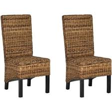 Wicker High Back Dining Chair Safavieh Dining Room U0026 Kitchen Chairs Shop The Best Deals For