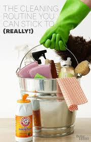 your simple whole house cleaning schedule cleaning schedules