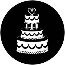 Wedding Gobo Templates Wedding Cake Apollo Gobo 4029