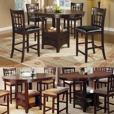 high top kitchen table with leaf high top tables and chairs spurinteractive com