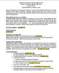 regular board meeting minutes u2013 board of directors u2013 greenville