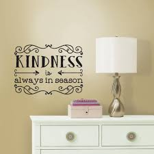 wallpops 16 ft x 6 5 in black jack stripe 2 pack wall decal 5 in w x 11 5 in h kindness quote 2 piece peel