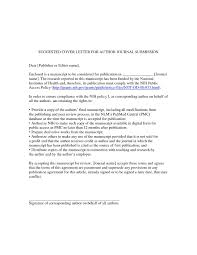cover letter design paper submission cover letter sample how to