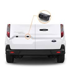 ford transit connect rear top third brake light l backup camera system for ford transit connect vardsafe vs302k