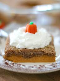 pumpkin pie dump cake the country cook