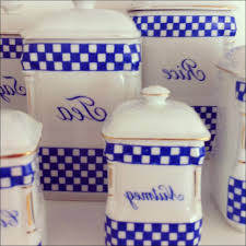 blue and white kitchen canisters kitchen blue white kitchen canisters ideas blue kitchen canister