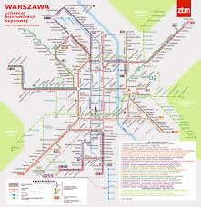 Warsaw Airport Map Maps Of Warsaw Detailed Map Of Warsaw In English Maps Of