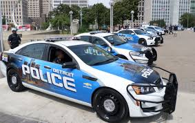 fastest police car detroit welcomes new ambulances police cars donated by local