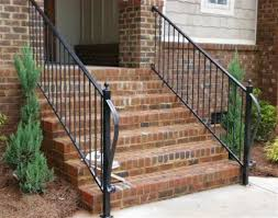 wrought iron outdoor stair railing biocert