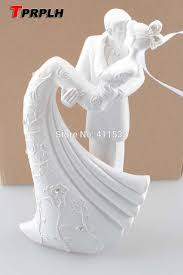 wedding cake accessories and groom resin white wedding cake topper cake stand wedding