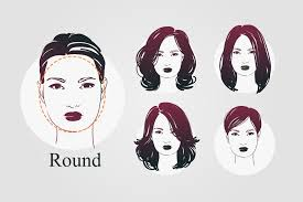 hairstyles for women with round head 9 face shapes and best hairstyles for each