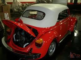 1979 vw volkswagen beetle convertible volkswagen super beetle convertible fresh nut and bolt restoration