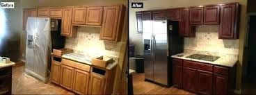 how to refinish oak kitchen cabinets refinish wood kitchen cabinets s refinish oak kitchen cabinets to