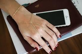 diy hand bracelet images Diy hand chain ring bracelet part two oblacoder jpg