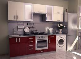 One Wall Kitchen Designs With An Island Aamoda Kitchen Single Wall Modular Kitchen Concept And Style Http