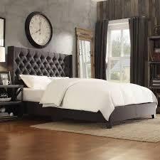 homesullivan wentworth charcoal queen upholstered bed 40e784bq