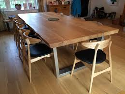Chunky Rustic Dining Table Dining Table Rustic Wood Dining Table Inside Lovely Dining Room
