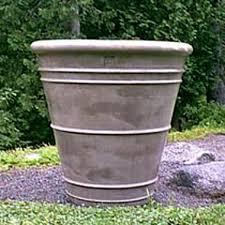 large concrete planter roman extra large concrete planter lunaform urban pot