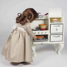 18 inch doll kitchen furniture factory second vintage stove sized for 18
