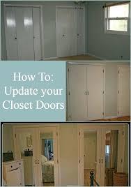 Updating Closet Doors Update Closet Doors Sliding Closet Door Pull Mirrored Closet Door