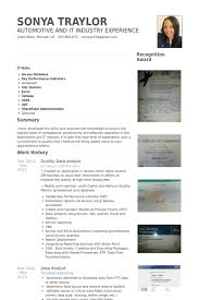 Sample Resume Data Entry by Data Analyst Resume Samples Visualcv Resume Samples Database