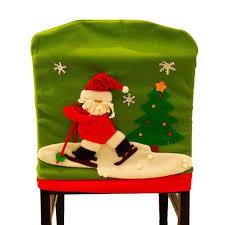 Christmas Chair Back Covers 1 Pc Christmas Chair Covers Cute Showman Chair Back Covers