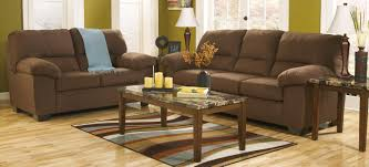 Living Room Furniture Reviews by Buy Ashley Furniture 1760038 1760035 Set Zadee Chocolate Living