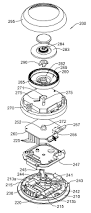 patent us7159789 thermostat with mechanical user interface